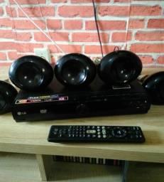 Home Theater LG com HDMI
