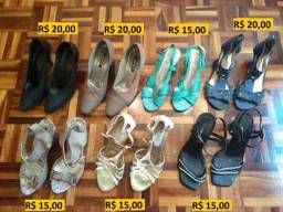 b7b6c10362 Sapatos Femininos (Desconto para retirar)