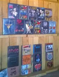 DvD`s e CD`s Originais ,de Rock !