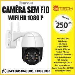Camêra Sem Fio Wifi HD 1080 P com visão notruna