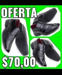 Oferta da semana( sapatos sociais costurados por 70,00