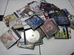 100 cds e dvds de músicas