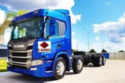 Nova Scania P320 8x2 Aut Cabine leito Super Completo + Retarde 2020