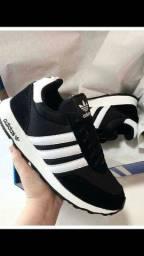 Tênis Adidas Neo Black White