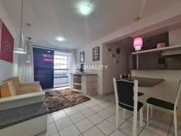 Apartamento Mobiliado no Meireles com 2 suítes para alugar, 63 m²