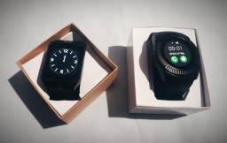 Relógio Inteligente Smartwatch(Relógio Celular) Touch Chip Cartão Frete Gratis