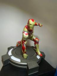 Estátua homem de ferro Iron Studios muito rara