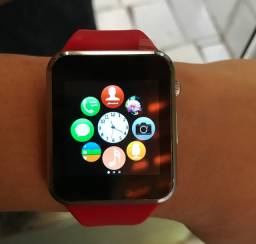 Smart Relógio A1 (Possui entrada para chip e cartão de memória).