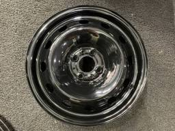 Jogo Rodas Ferro Aro 15 Fiat - Roda Ferro 15 Fiat 4x98 - Excelente Estado