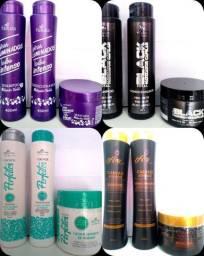 Kits shampoo 400ml condicionador 400ml Máscara hidratação 300g