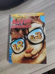 Dvd Trilogia Alvin E Os Esquilos Original De Fábrica (NOVO)