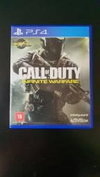 Jogos Call Of Duty: Infinite Warfare e Until Dawn para PS4