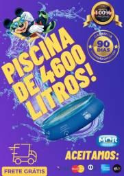 Mega Promoção!! Piscina de 4600 Litros! Produto com Garantia!