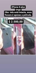 IPhone 8 plus - aceito cartão