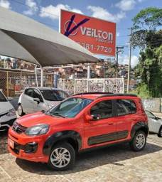 Fiat Uno Way 2018 1.0 Flex Emplacado
