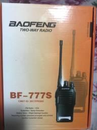 Radio Comunicador 777s Profissional Ht Uhf 16 Canais (COM FONES)
