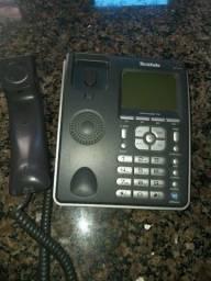 Telefone de mesa super conservado com secretaria eletrônico
