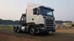 Scania r440 6x2 2014 único dono