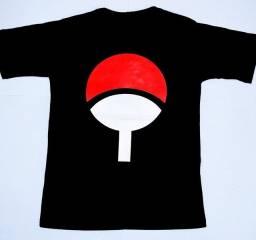 Camiseta Clã Uchiha Naruto Tamanhos M e G