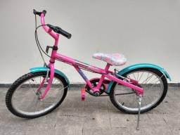 Bicicleta da Barbie aro 20