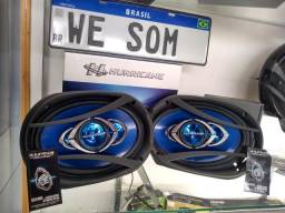 Mega Promocao Par 6x9 Hurricane Novo Com Garantia Confira !!!!