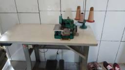 Maquina de costura overloque e galoneira
