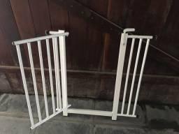 Portão de segurança infantil