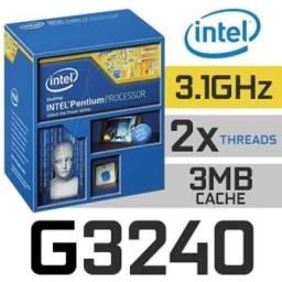 Processador Intel G3240 3.10GHz 3°Gen.
