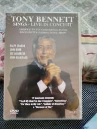 Dvd Tony  Bennett sonha live in concert