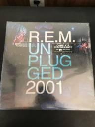 Disco duplo R.E.M Unpluged 2001