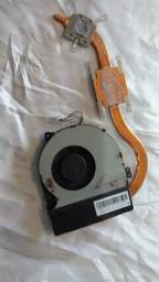Cooler com Dissipador Original do notebook Asus X450LD / Asus X450LC