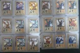 Coleção Dracomania, Mythomania E Naruto, Cards Avulsos