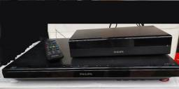 Home Theater 5.1 Philips 1000 Watts Wi Fi, Com Blue Ray e Dvd