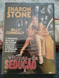Dvd.vitimas da sedução Sharon Stone original lacrado
