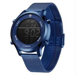 Relógio Unissex Tuguir Digital - Azul