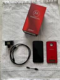 Moto Z3 Play Com Snap e nota fiscal 64 GB