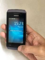 Celular Nokia 2 chips, camera traseira, cartão de memória 4gb