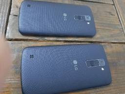 2 Smartphone LG K10 Lte 16gb Android - Azul