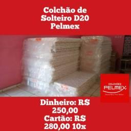 Colchão Solteiro D20 Pelmex