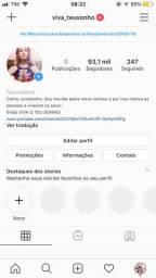 Vendo Instagram com mais de 90 mil seguidores