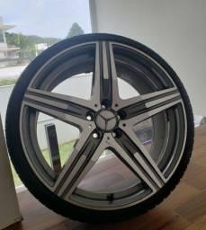 Kit roda e pneu-Aro 20 (4 unidades) Mercedes-benz
