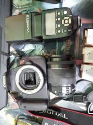 Kit Câmera Preofissional T5i+Flas YN