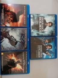 Blu-Ray Trilogia Batman e Sherlock Holmes....Para Colecionadores