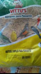Vendo mistura pra pássaros