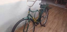 Bicicleta monark Barra circular reformada e revisada ano 1978