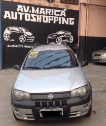 Fiat Palio weekend 1.8 adventure completo com GNV