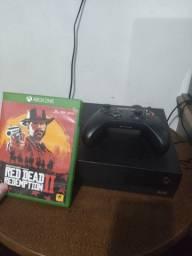 Xbox one X 1tb 4k + jogo red dead redemption 2