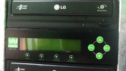 Controladora e gravadora de cd e dvd