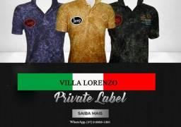 Private label Villa Lorenzo produzimos e administramos sua marca