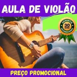 Aula de violão para iniciante - Preço promocional!